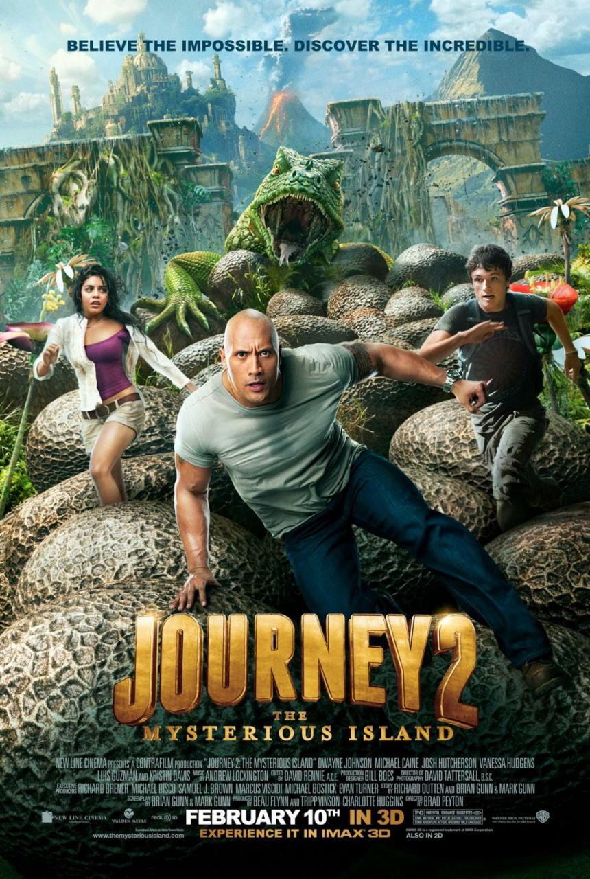 映画『センター・オブ・ジ・アース2 神秘の島 JOURNEY 2: THE MYSTERIOUS ISLAND』ポスター(6)