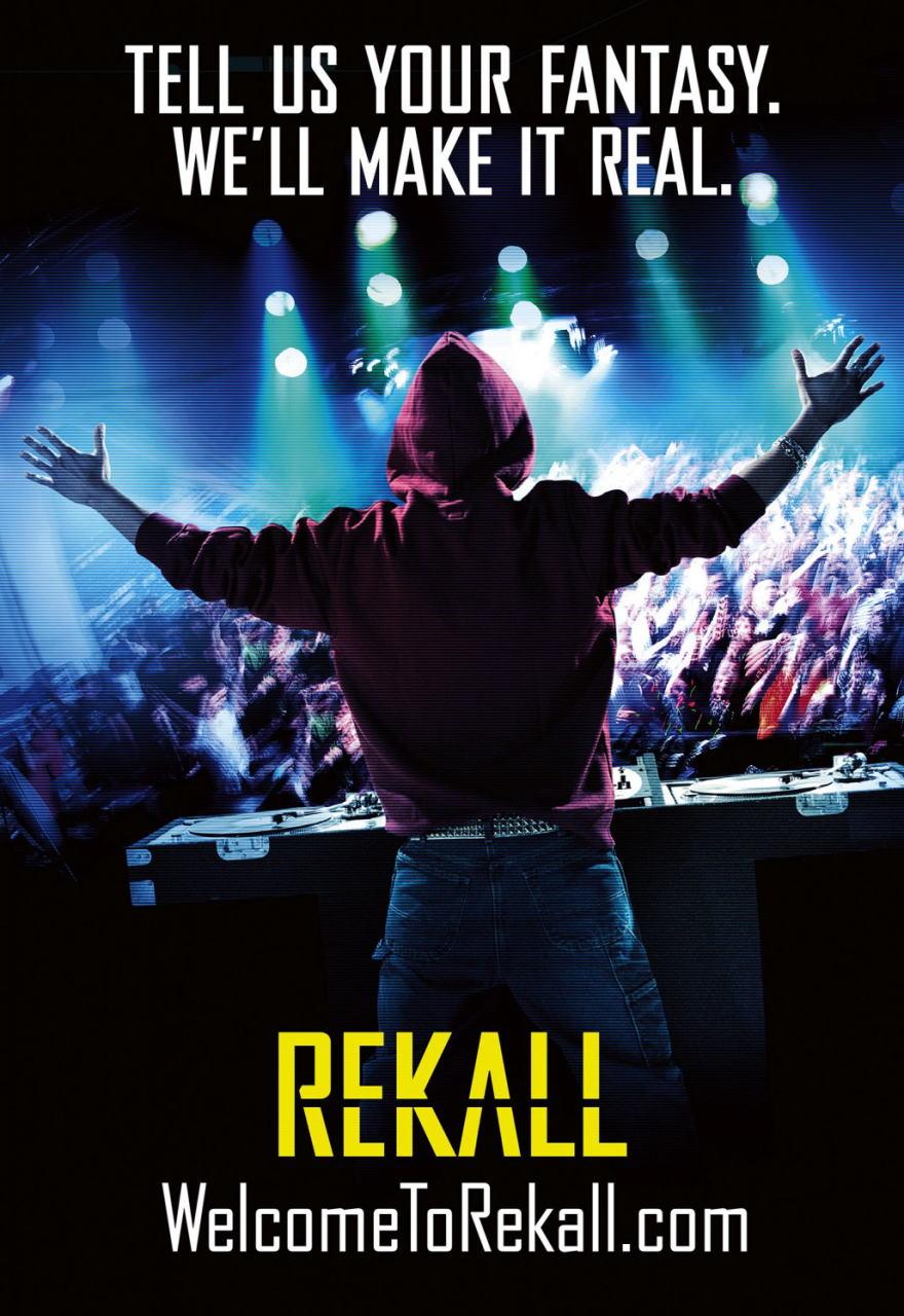 映画『トータル・リコール TOTAL RECALL』ポスター(5)▼ポスター画像クリックで拡大します。