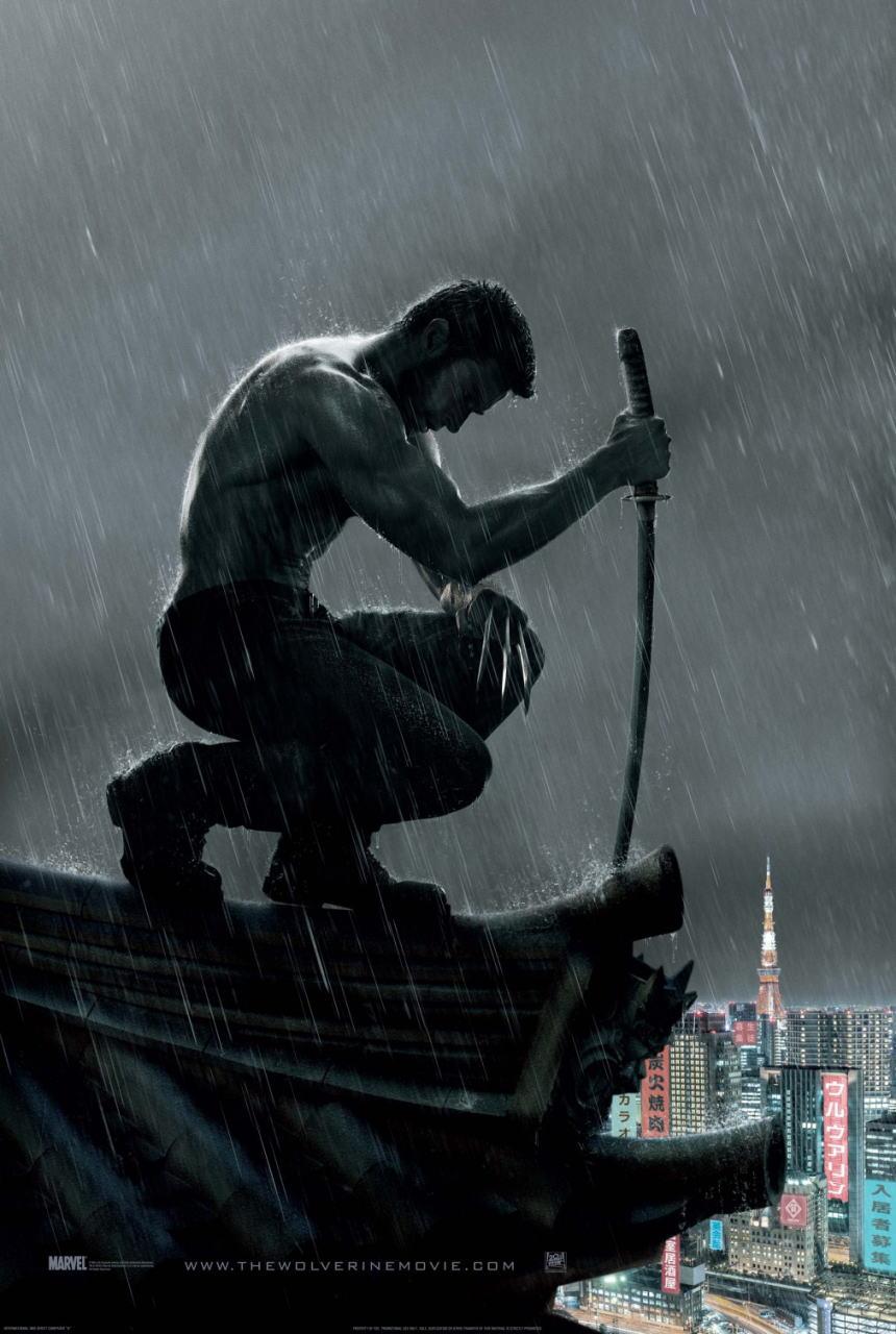 映画『ウルヴァリン:SAMURAI (2013) THE WOLVERINE』ポスター(3)▼ポスター画像クリックで拡大します。
