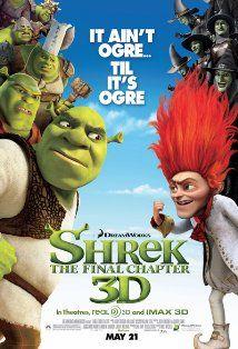 映画『 シュレック フォーエバー (2010) SHREK FOREVER AFTER 』ポスター