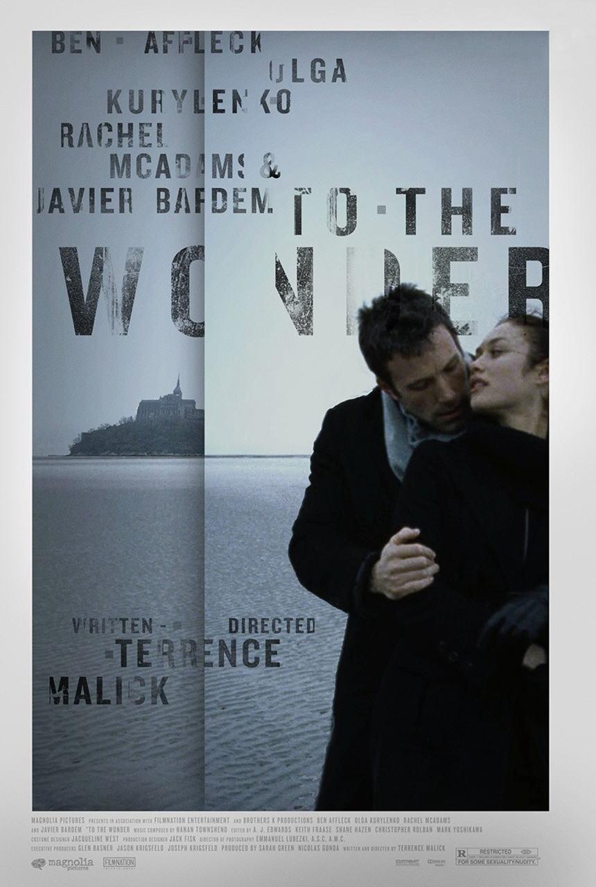 映画『トゥ・ザ・ワンダー TO THE WONDER』ポスター(1)▼ポスター画像クリックで拡大します。