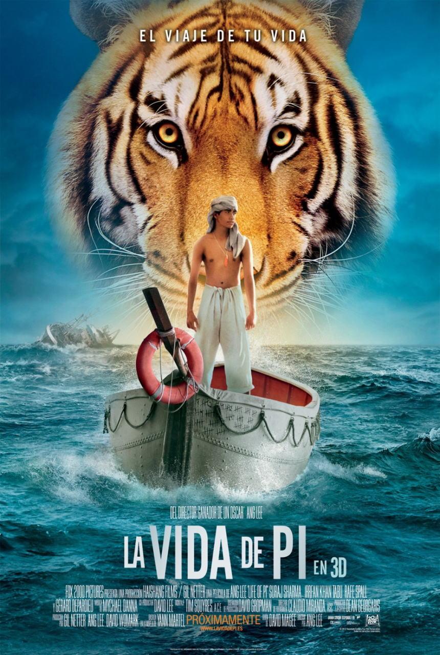 映画『ライフ・オブ・パイ/トラと漂流した227日 (2012) LIFE OF PI』ポスター(3)▼ポスター画像クリックで拡大します。