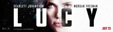 映画『LUCY/ルーシー (2014) LUCY』ポスター(3) ▼ポスター画像クリックで拡大します。