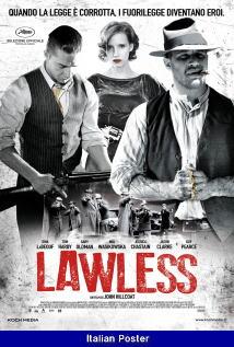 映画『 欲望のバージニア (2012) LAWLESS 』ポスター