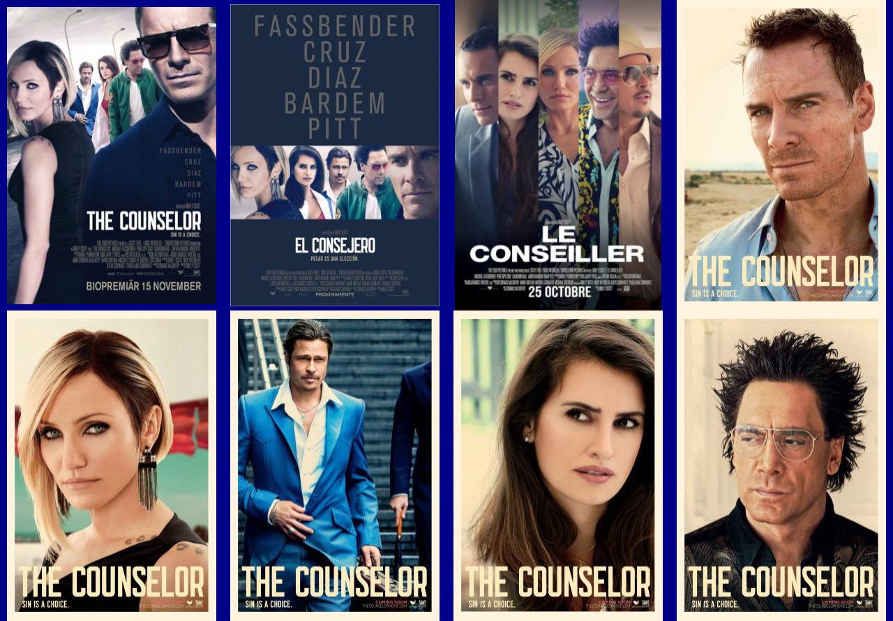 映画『悪の法則 (2013) THE COUNSELOR』ポスター(4)▼ポスター画像クリックで拡大します。
