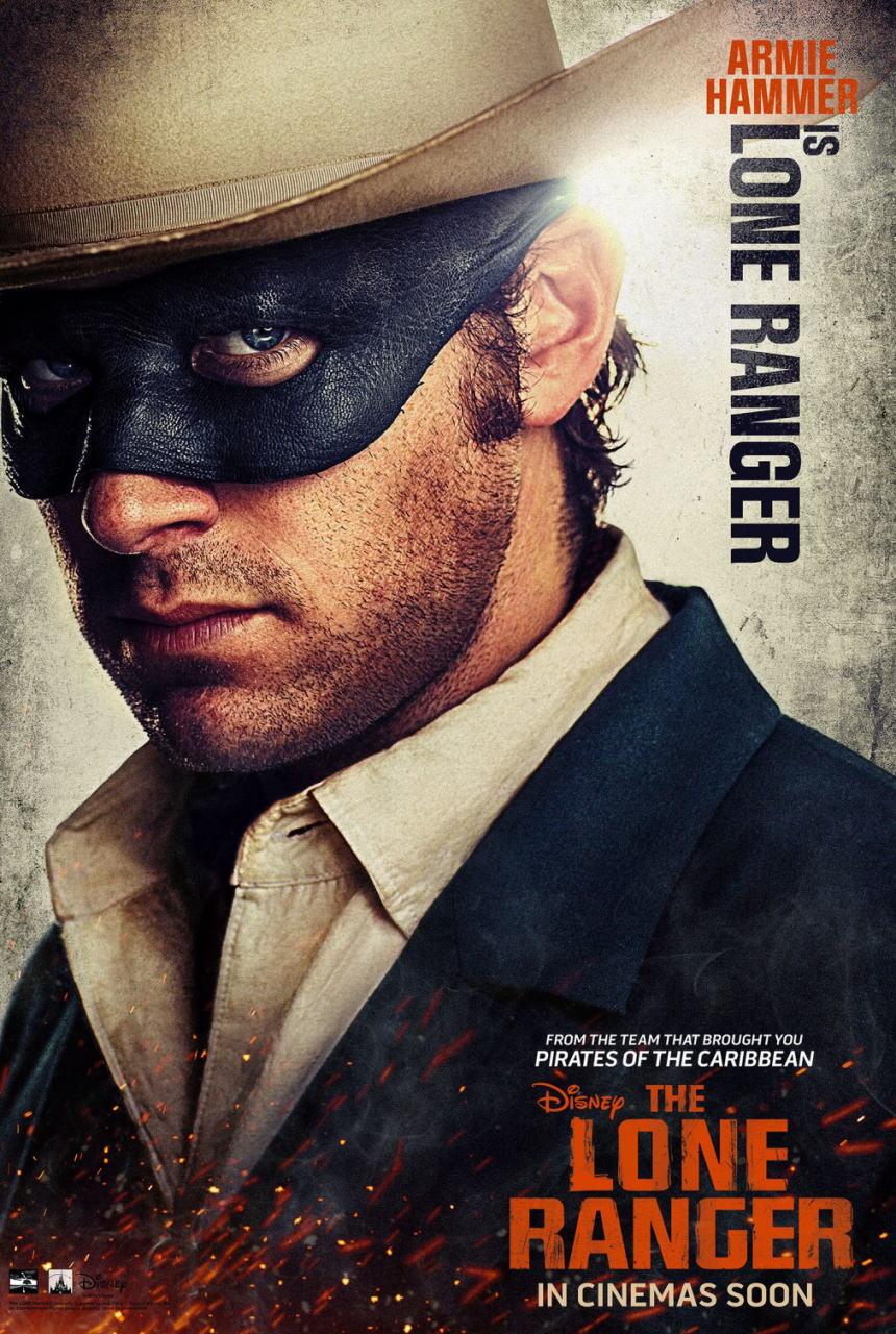 映画『ローン・レンジャー (2013) THE LONE RANGER』ポスター(3)▼ポスター画像クリックで拡大します。