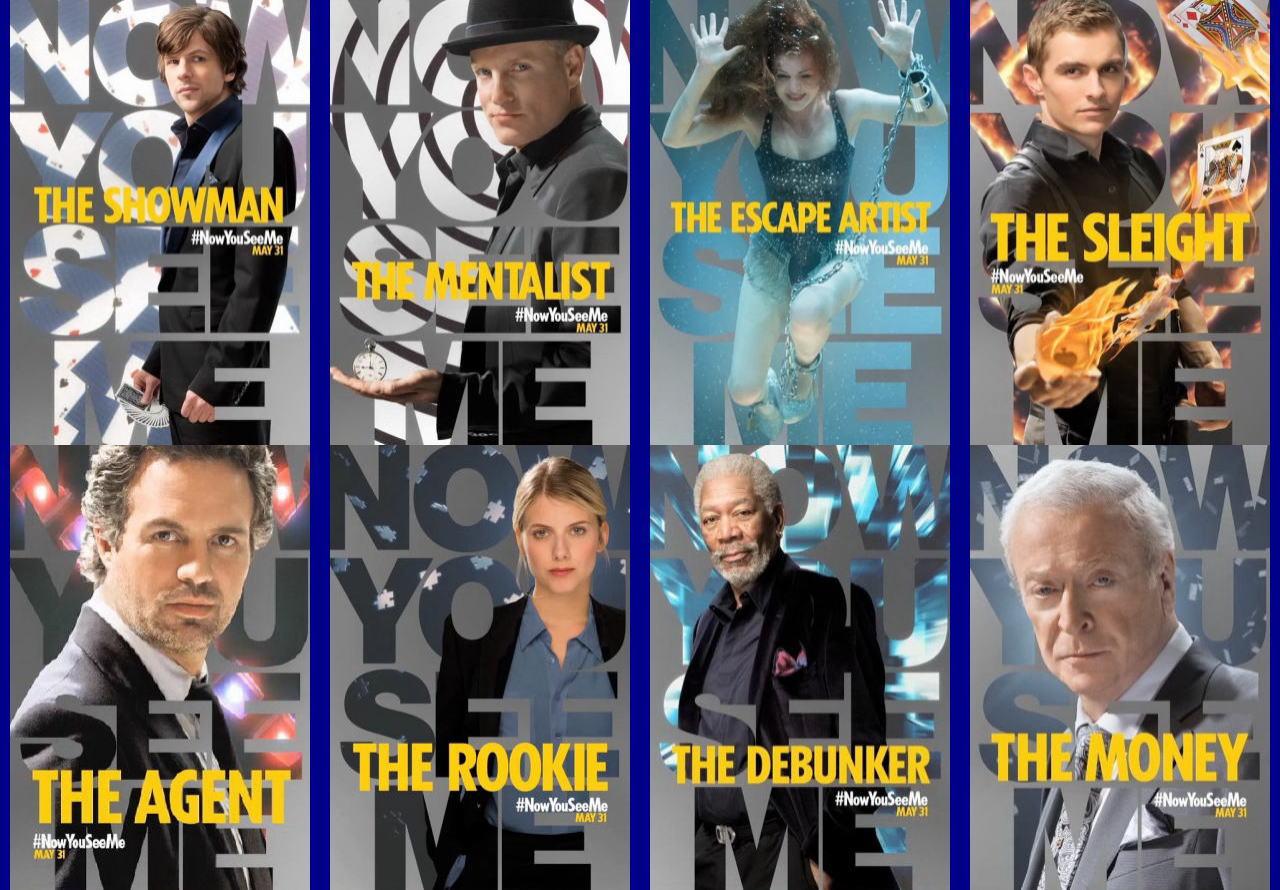 映画『グランド・イリュージョン (2013) NOW YOU SEE ME』ポスター(4)▼ポスター画像クリックで拡大します。