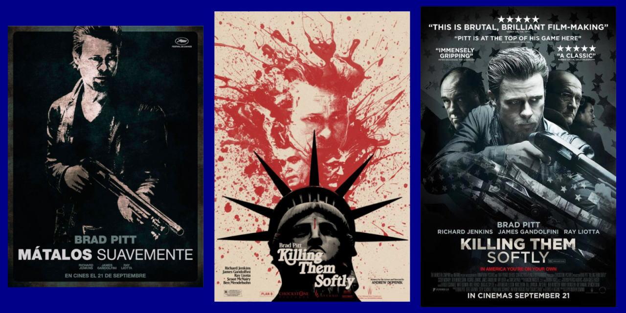 映画『ジャッキー・コーガン KILLING THEM SOFTLY』ポスター(5)▼ポスター画像クリックで拡大します。