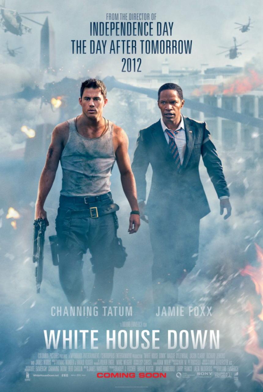 映画『ホワイトハウス・ダウン (2013) WHITE HOUSE DOWN』ポスター(1) ▼ポスター画像クリックで拡大します。