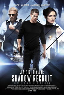 映画『 エージェント:ライアン (2014) JACK RYAN: SHADOW RECRUIT 』ポスター
