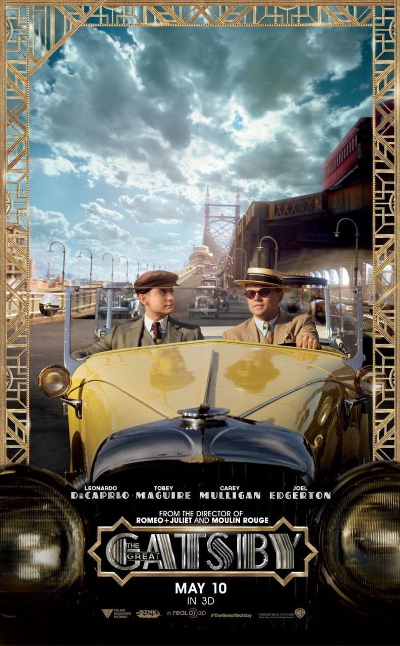 映画『華麗なるギャツビー (2013) THE GREAT GATSBY』ポスター(4) ▼ポスター画像クリックで拡大します。