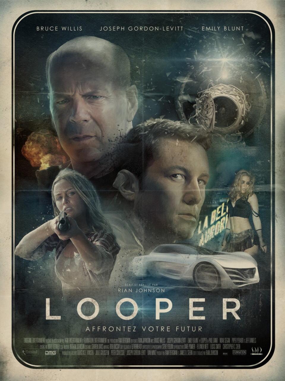 映画『LOOPER/ルーパー LOOPER』ポスター(5)▼ポスター画像クリックで拡大します。