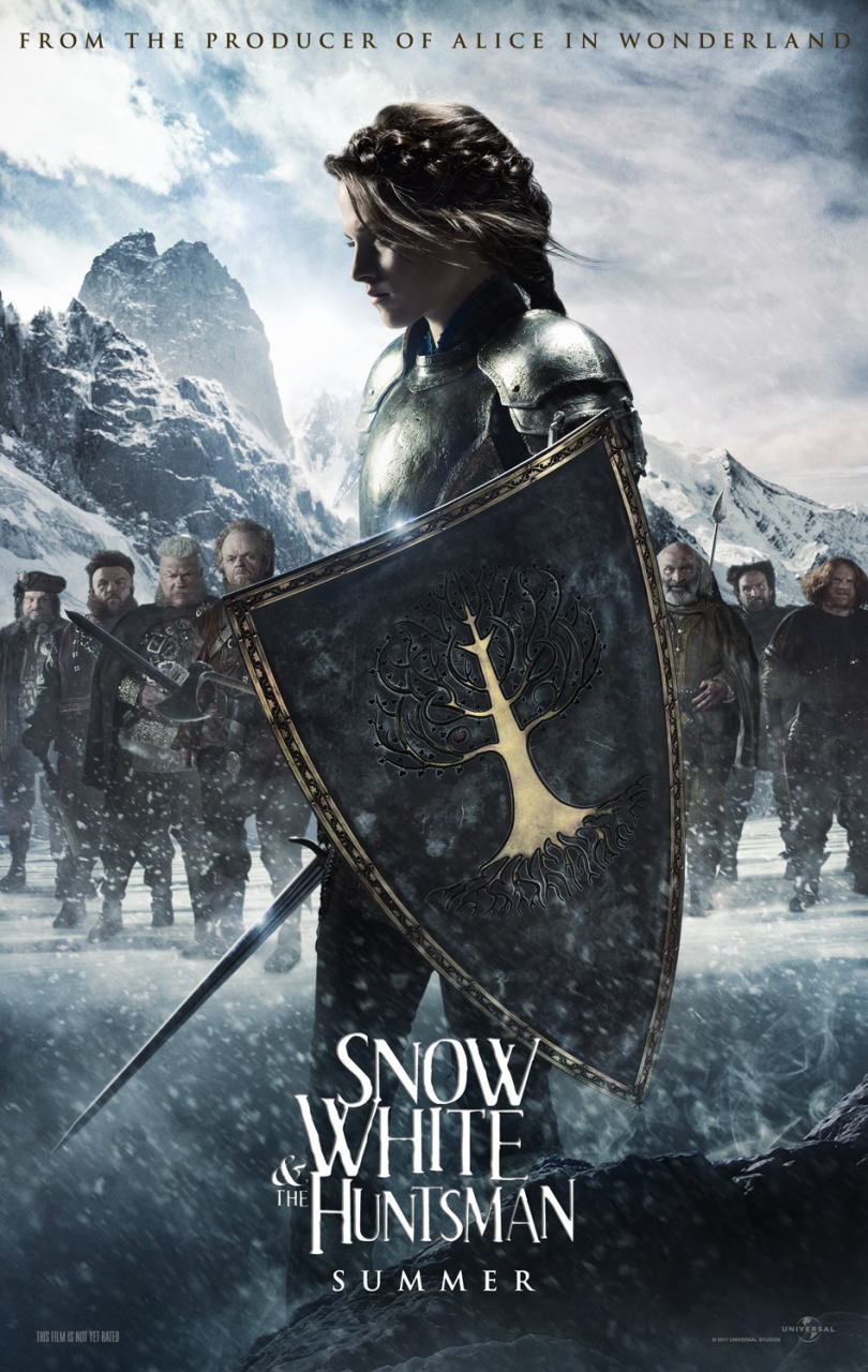 映画『スノーホワイト SNOW WHITE AND THE HUNTSMAN』ポスター(3)▼ポスター画像クリックで拡大します。
