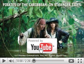 ※クリックでYouTube『パイレーツ・オブ・カリビアン/生命(いのち)の泉 PIRATES OF THE CARIBBEAN: ON STRANGER TIDES』予告編へ