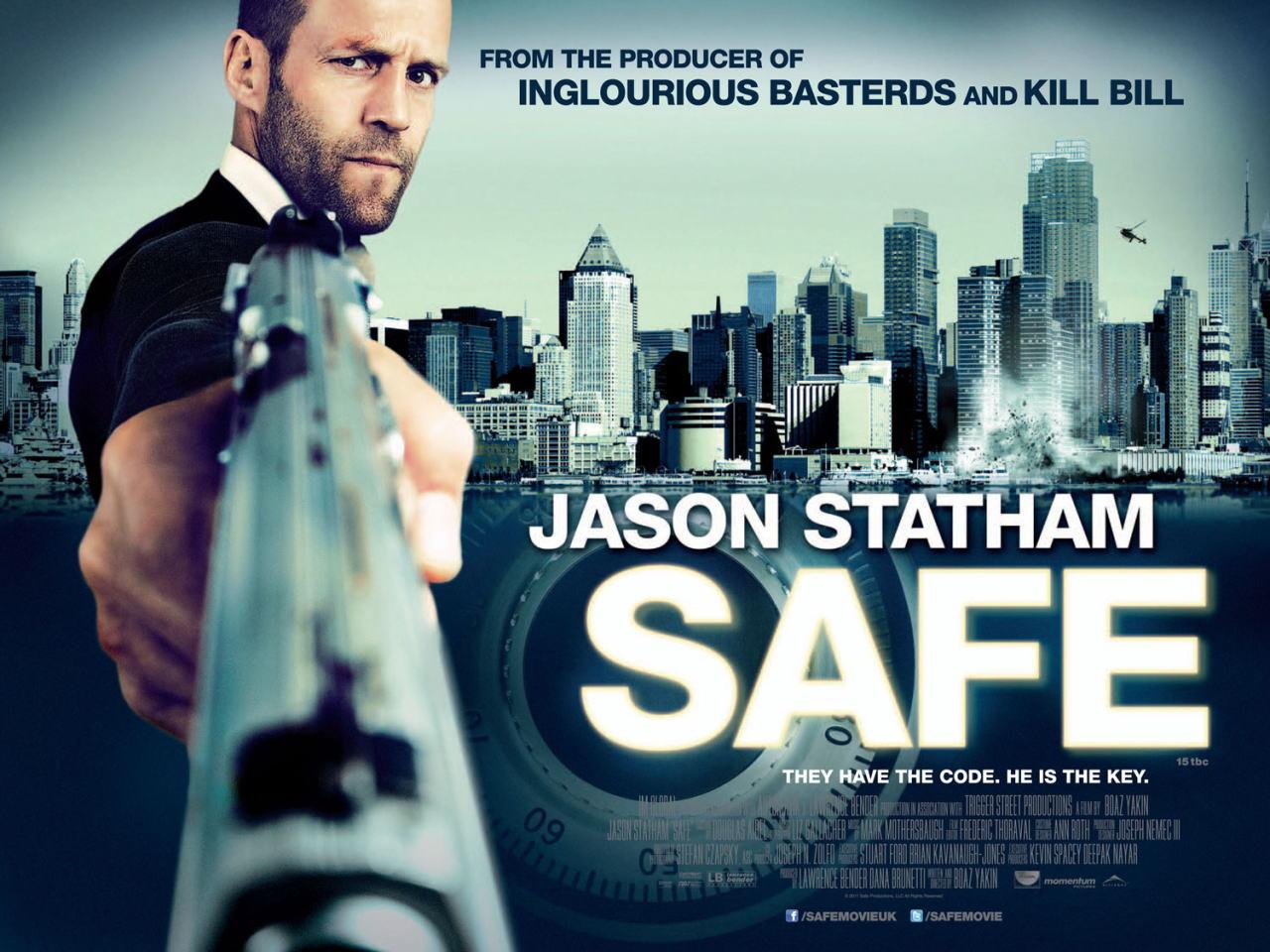 映画『SAFE/セイフ SAFE』ポスター(4) ▼ポスター画像クリックで拡大します。