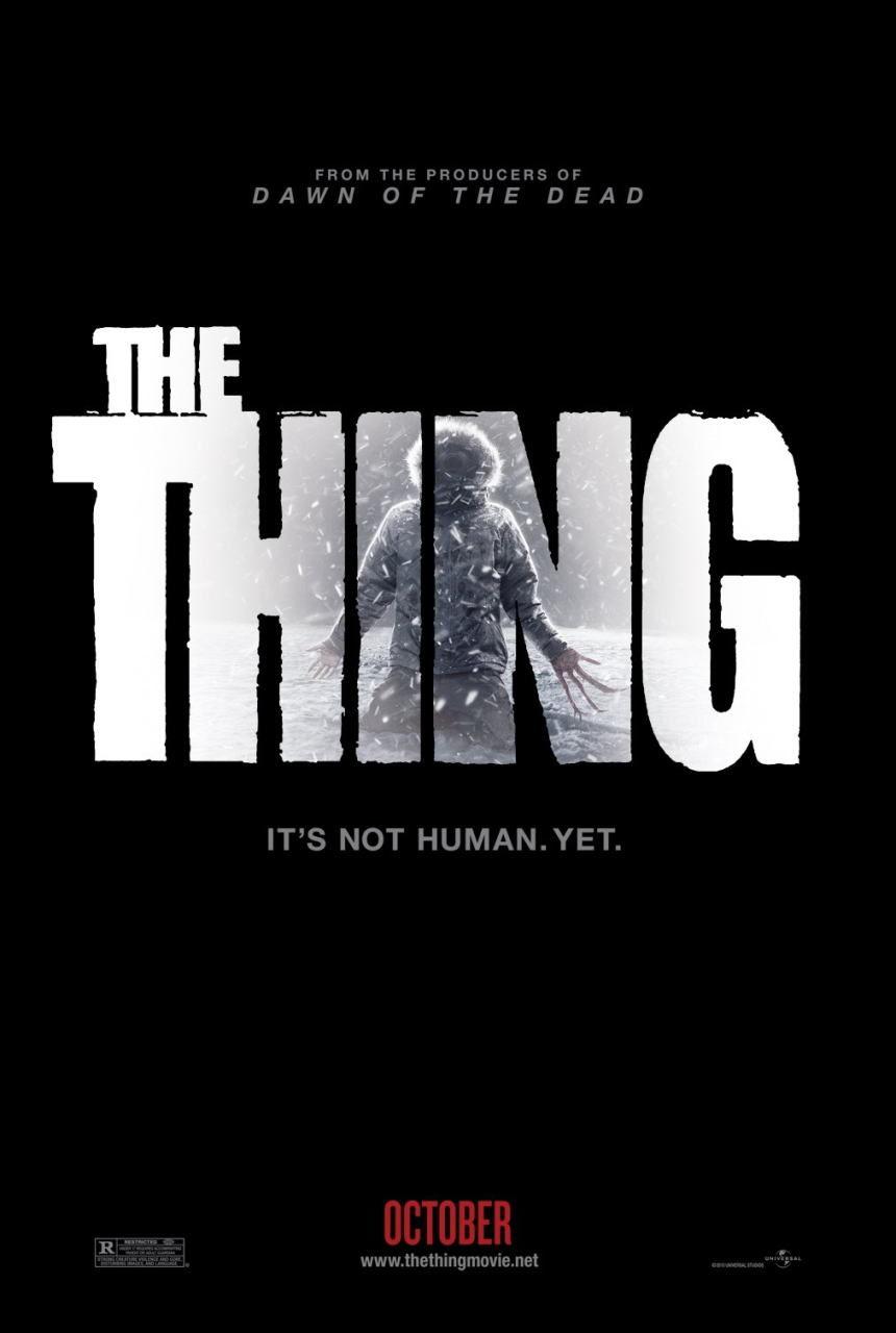 映画『遊星からの物体X ファーストコンタクト THE THING』ポスター(1) ▼ポスター画像クリックで拡大します。
