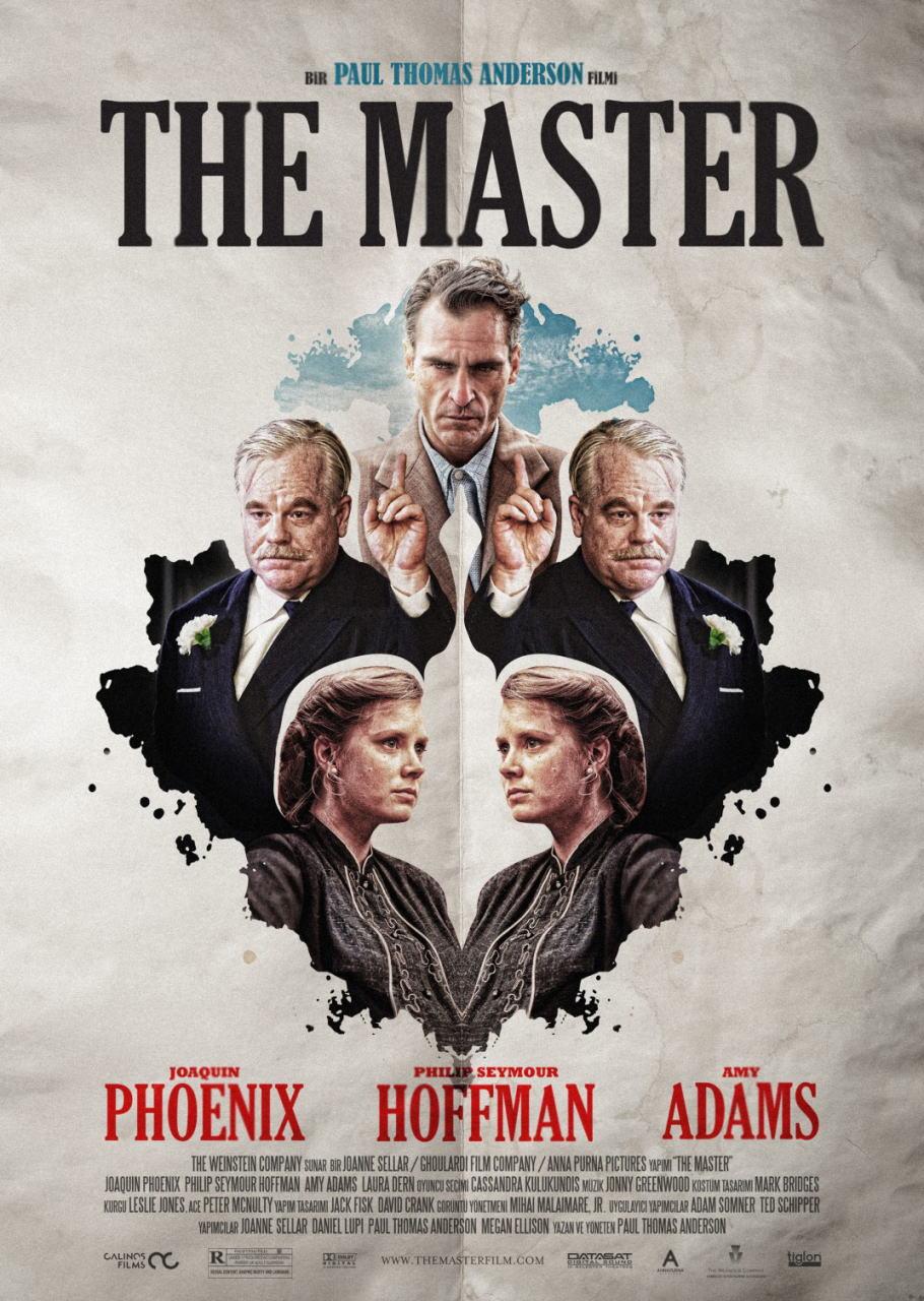 映画『ザ・マスター THE MASTER』ポスター(4)▼ポスター画像クリックで拡大します。