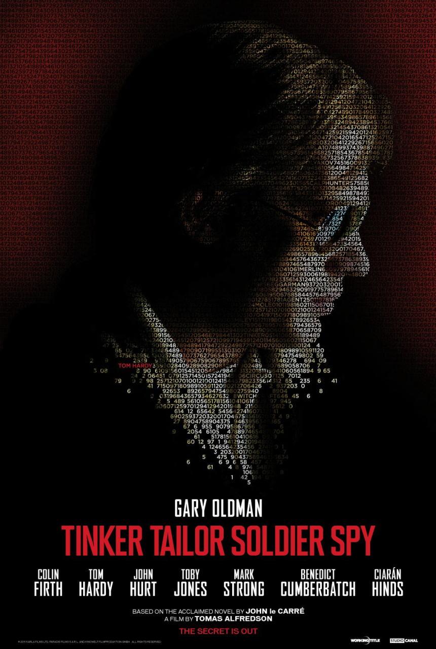 映画『裏切りのサーカス TINKER TAILOR SOLDIER SPY』ポスター(5) ▼ポスター画像クリックで拡大します。
