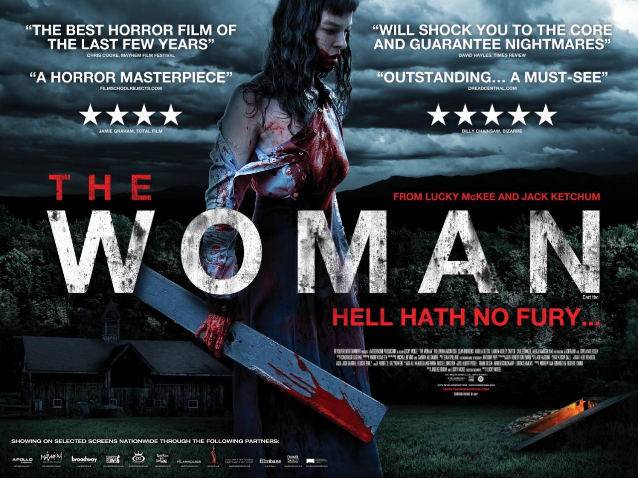 映画『ザ・ウーマン PROMETHEUS』ポスター(2) ▼ポスター画像クリックで拡大します。