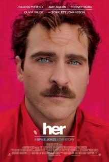 映画『 her/世界でひとつの彼女 (2013) HER 』ポスター
