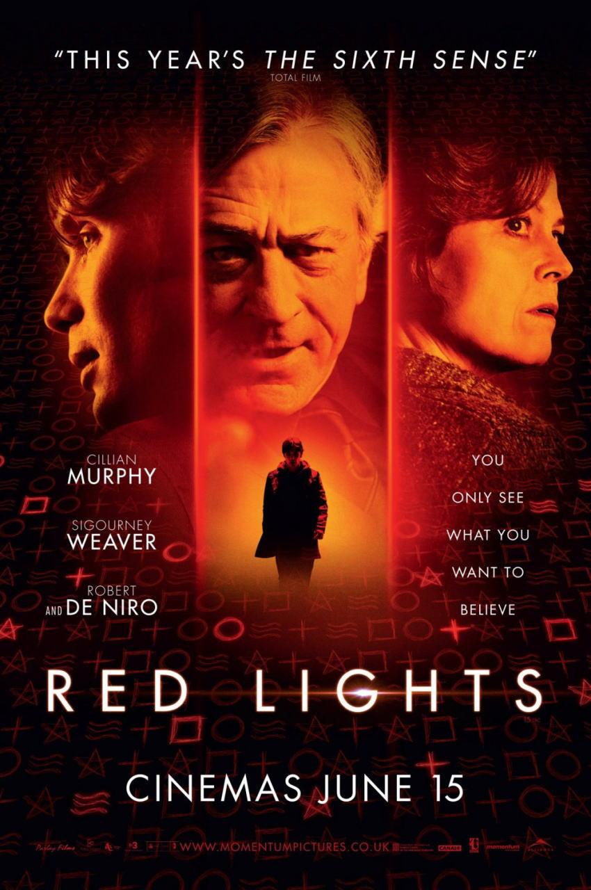 映画『レッド・ライト RED LIGHTS』ポスター(1) ▼ポスター画像クリックで拡大します。