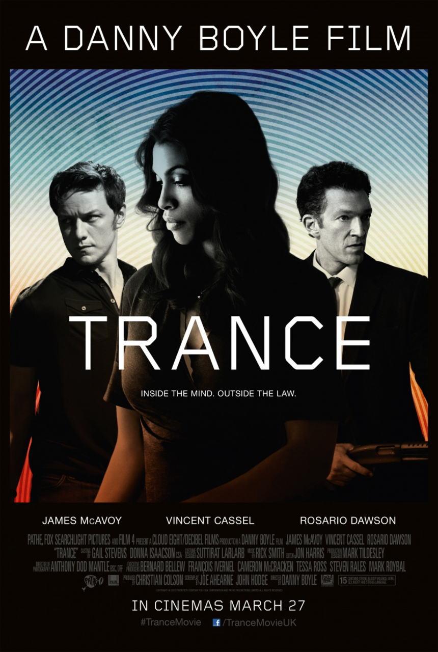 映画『トランス (2013) TRANCE』ポスター(1)▼ポスター画像クリックで拡大します。