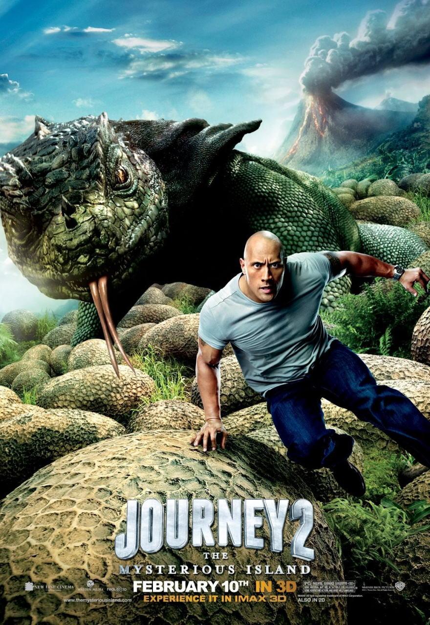 映画『センター・オブ・ジ・アース2 神秘の島 JOURNEY 2: THE MYSTERIOUS ISLAND』ポスター(1)