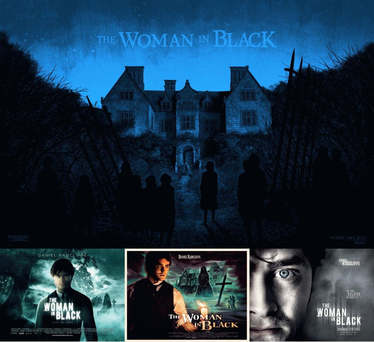 映画『ウーマン・イン・ブラック 亡霊の館 THE WOMAN IN BLACK』ポスター(6) ▼ポスター画像クリックで拡大します。
