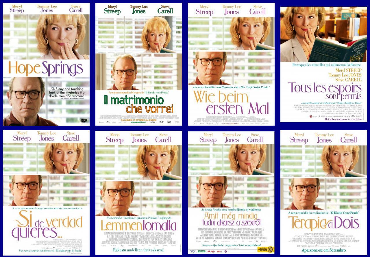 映画『31年目の夫婦げんか HOPE SPRINGS』ポスター(5)▼ポスター画像クリックで拡大します。