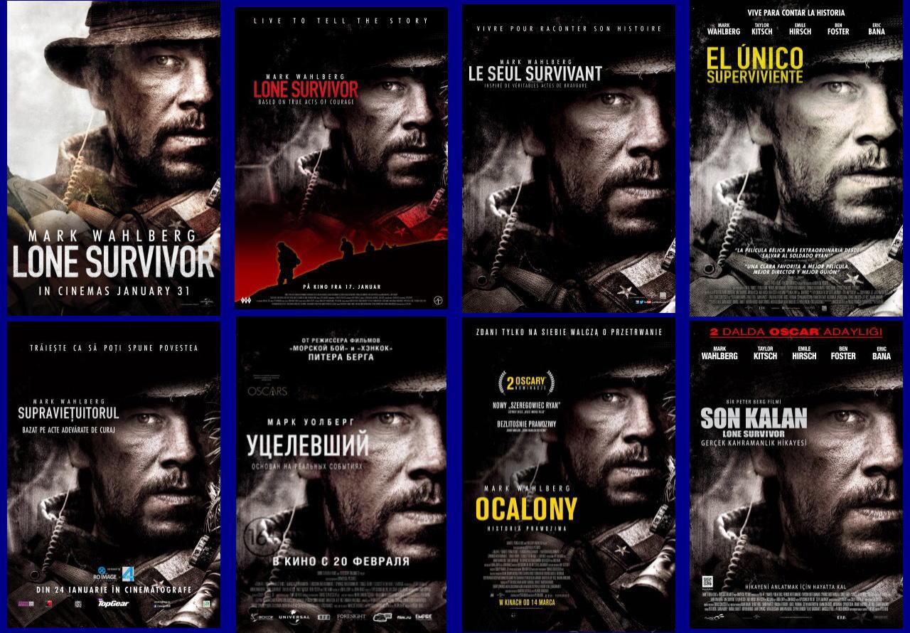 映画『ローン・サバイバー (2013) LONE SURVIVOR』ポスター(4)▼ポスター画像クリックで拡大します。