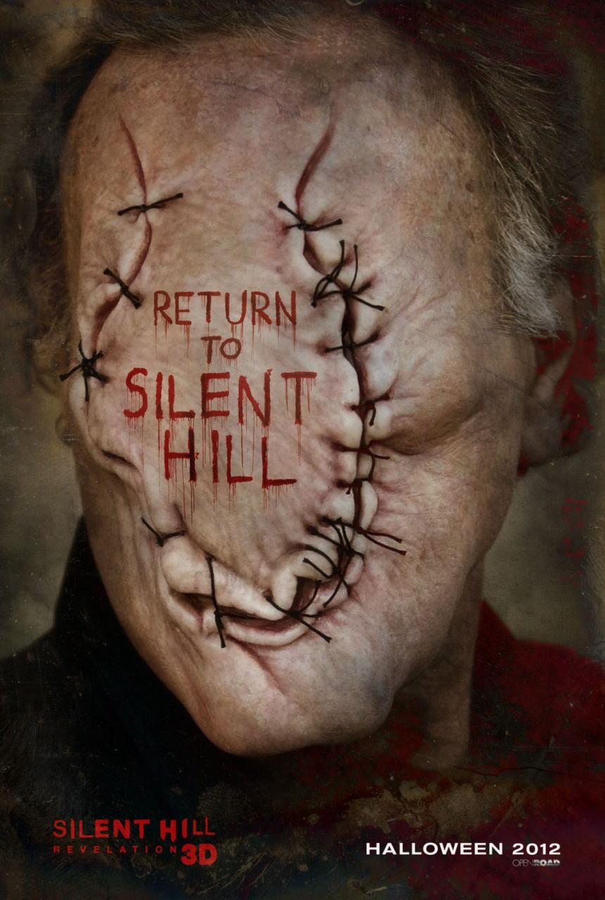 映画『サイレントヒル:リベレーション3D (2012) SILENT HILL: REVELATION 3D』ポスター(3)▼ポスター画像クリックで拡大します。