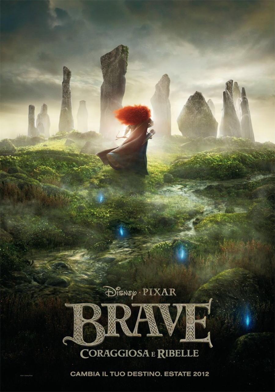映画『メリダとおそろしの森 BRAVE』ポスター(3) ▼ポスター画像クリックで拡大します。
