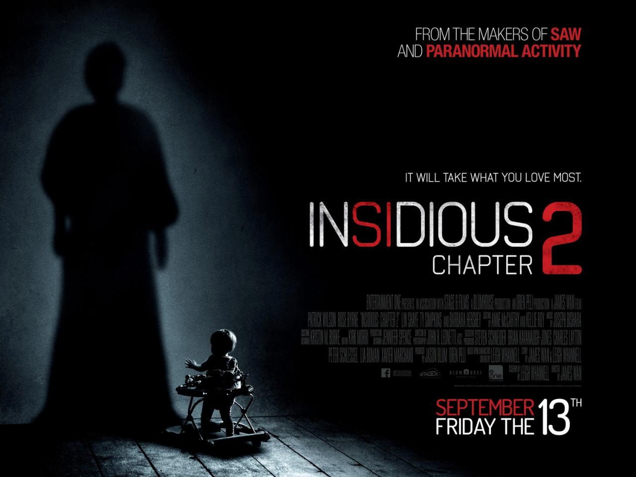 映画『インシディアス 第2章 (2013) INSIDIOUS: CHAPTER 2』ポスター(4) ▼ポスター画像クリックで拡大します。