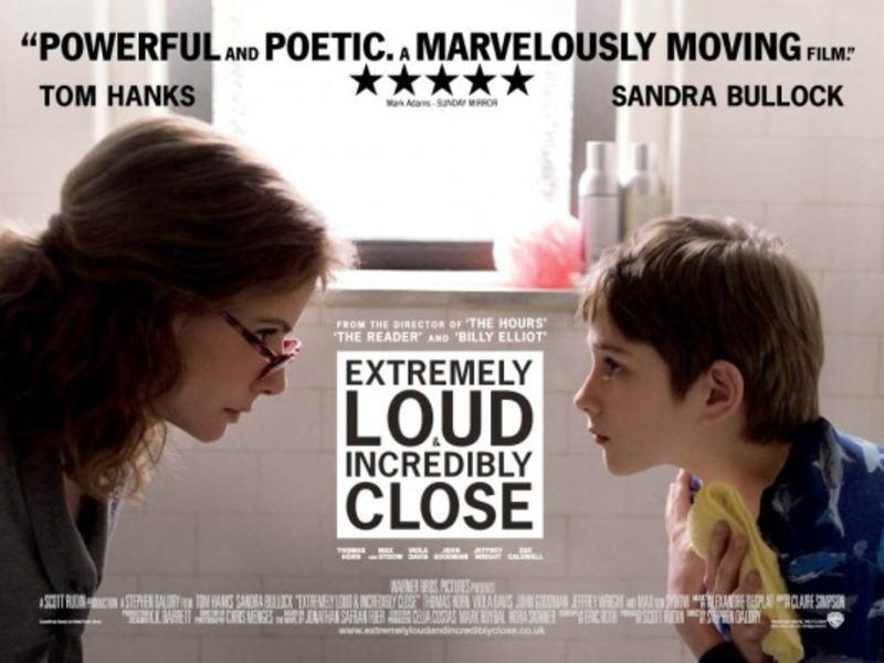 映画『ものすごくうるさくて、ありえないほど近い EXTREMELY LOUD AND INCREDIBLY CLOSE』ポスター(2)