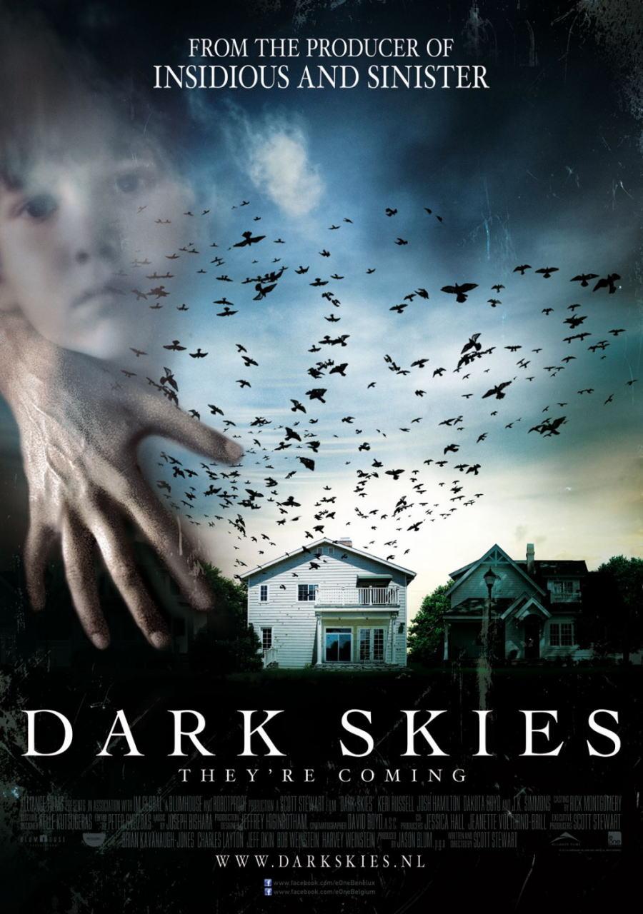 映画『ダークスカイズ (2013) DARK SKIES』ポスター(5)▼ポスター画像クリックで拡大します。
