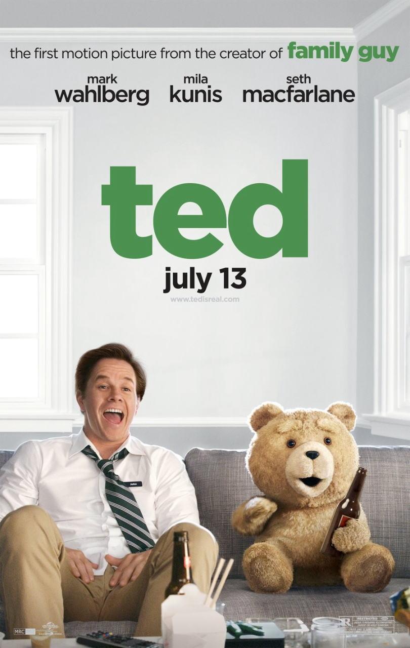映画『テッド TED』ポスター(2)▼ポスター画像クリックで拡大します。
