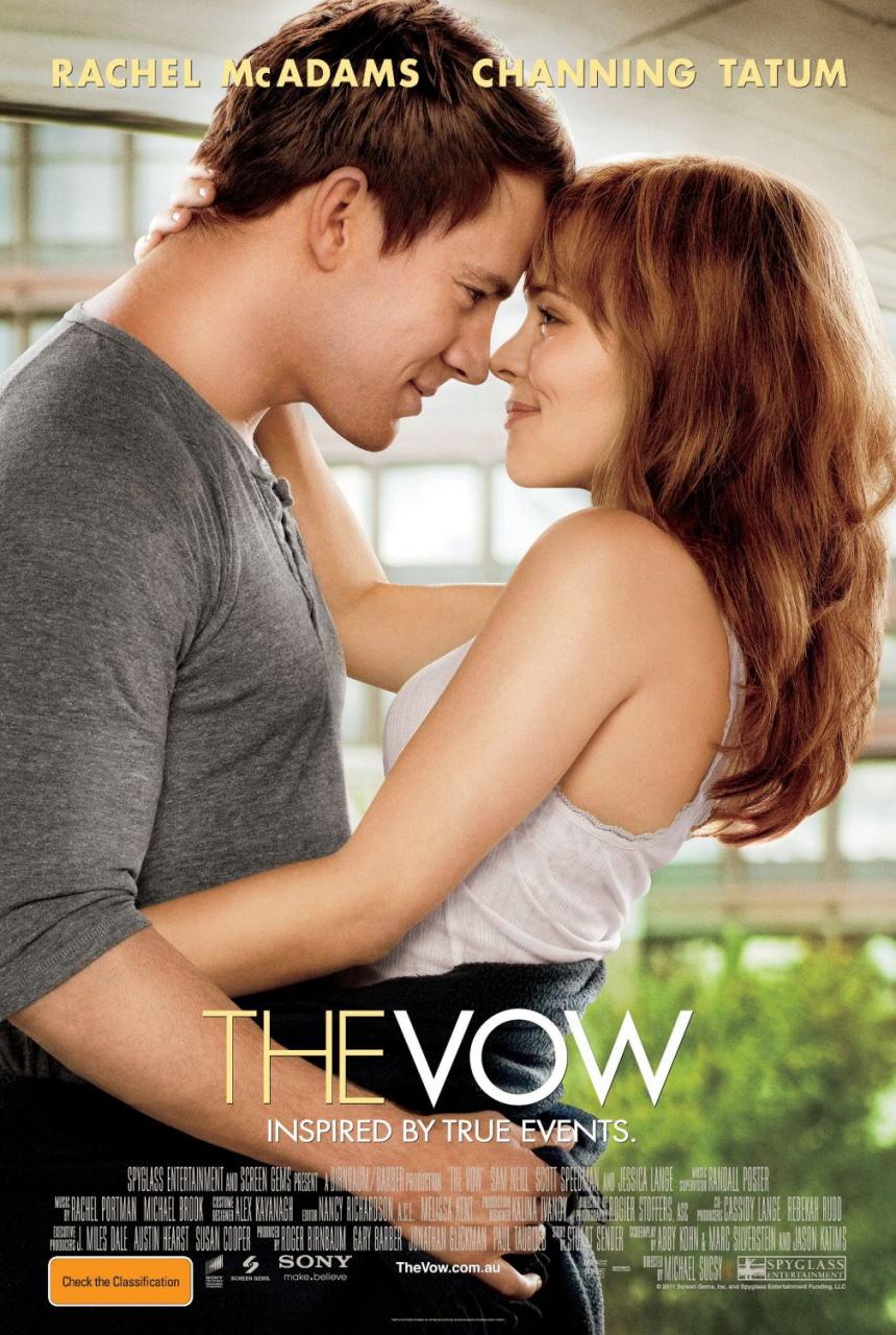 映画『君への誓い THE VOW』ポスター(2)▼ポスター画像クリックで拡大します。