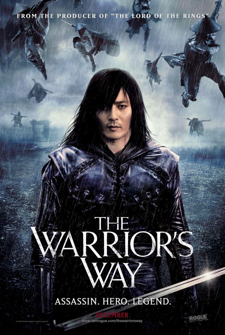 映画『決闘の大地で THE WARRIOR'S WAY』ポスター(1) ▼ポスター画像クリックで拡大します。