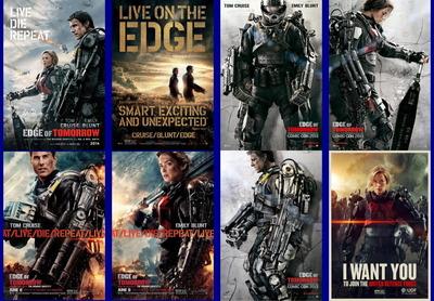 映画『オール・ユー・ニード・イズ・キル (2014) EDGE OF TOMORROW』ポスター(3)▼ポスター画像クリックで拡大します。