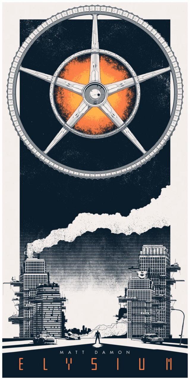 映画『エリジウム ELYSIUM』ポスター(4) ▼ポスター画像クリックで拡大します。