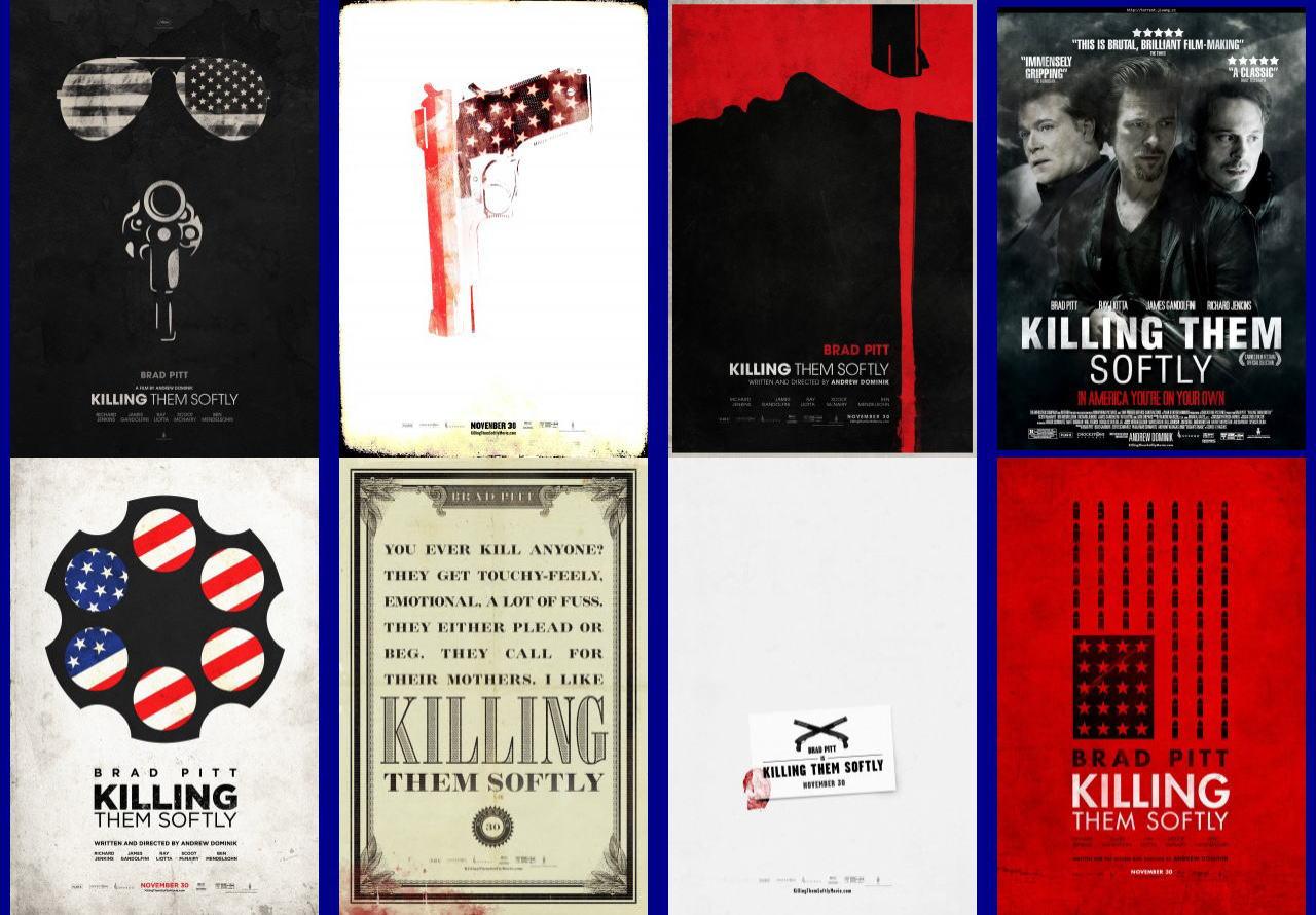 映画『ジャッキー・コーガン KILLING THEM SOFTLY』ポスター(8)▼ポスター画像クリックで拡大します。