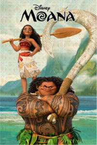 モアナと伝説の海ポスター07画像 ▼画像クリックで拡大します@映画の森てんこ森