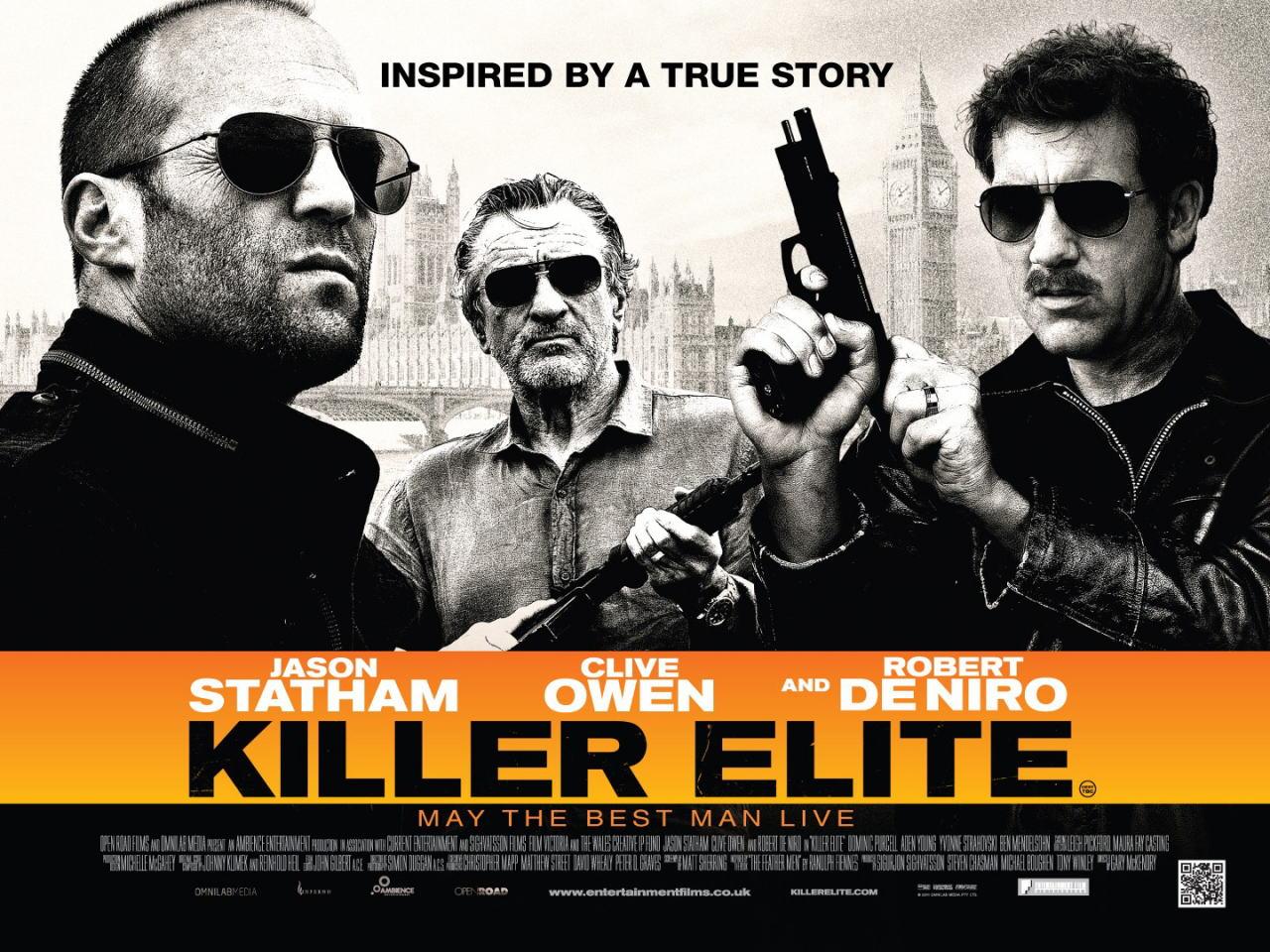 映画『キラー・エリート KILLER ELITE』ポスター(2) ▼ポスター画像クリックで拡大します。