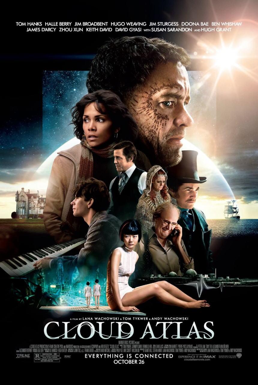映画『クラウド アトラス (2012) CLOUD ATLAS』ポスター(1)▼ポスター画像クリックで拡大します。