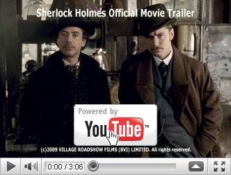 ※クリックでYouTube『シャーロック・ホームズ SHERLOCK HOLMES』予告編へ