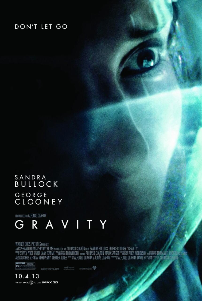 映画『ゼロ・グラビティ (2013) GRAVITY』ポスター(2) ▼ポスター画像クリックで拡大します。