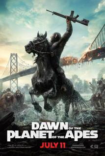 映画『 猿の惑星:新世紀(ライジング) (2014) DAWN OF THE PLANET OF THE APES 』ポスター
