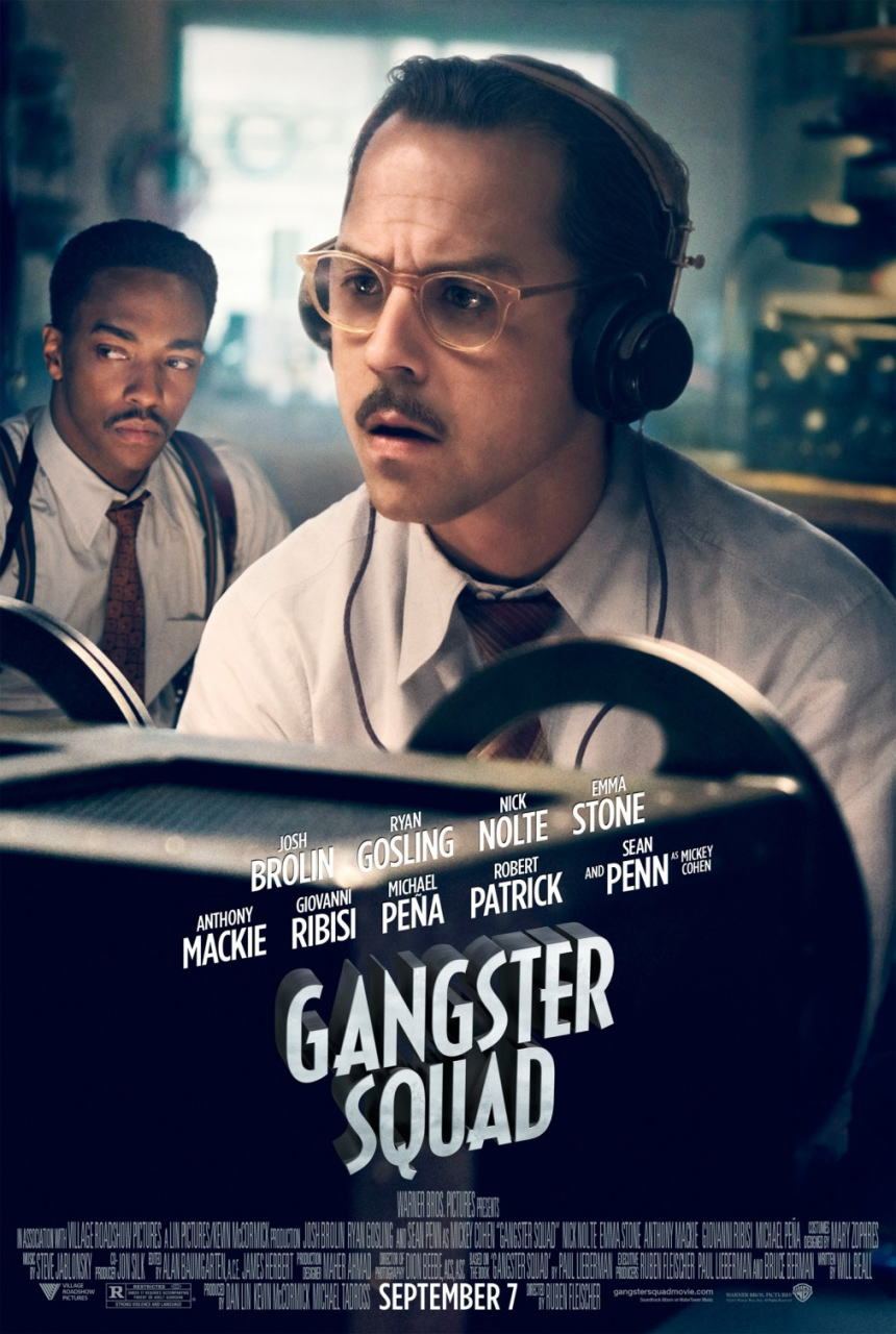 映画『L.A. ギャング ストーリー (2012) GANGSTER SQUAD』ポスター(7) ▼ポスター画像クリックで拡大します。