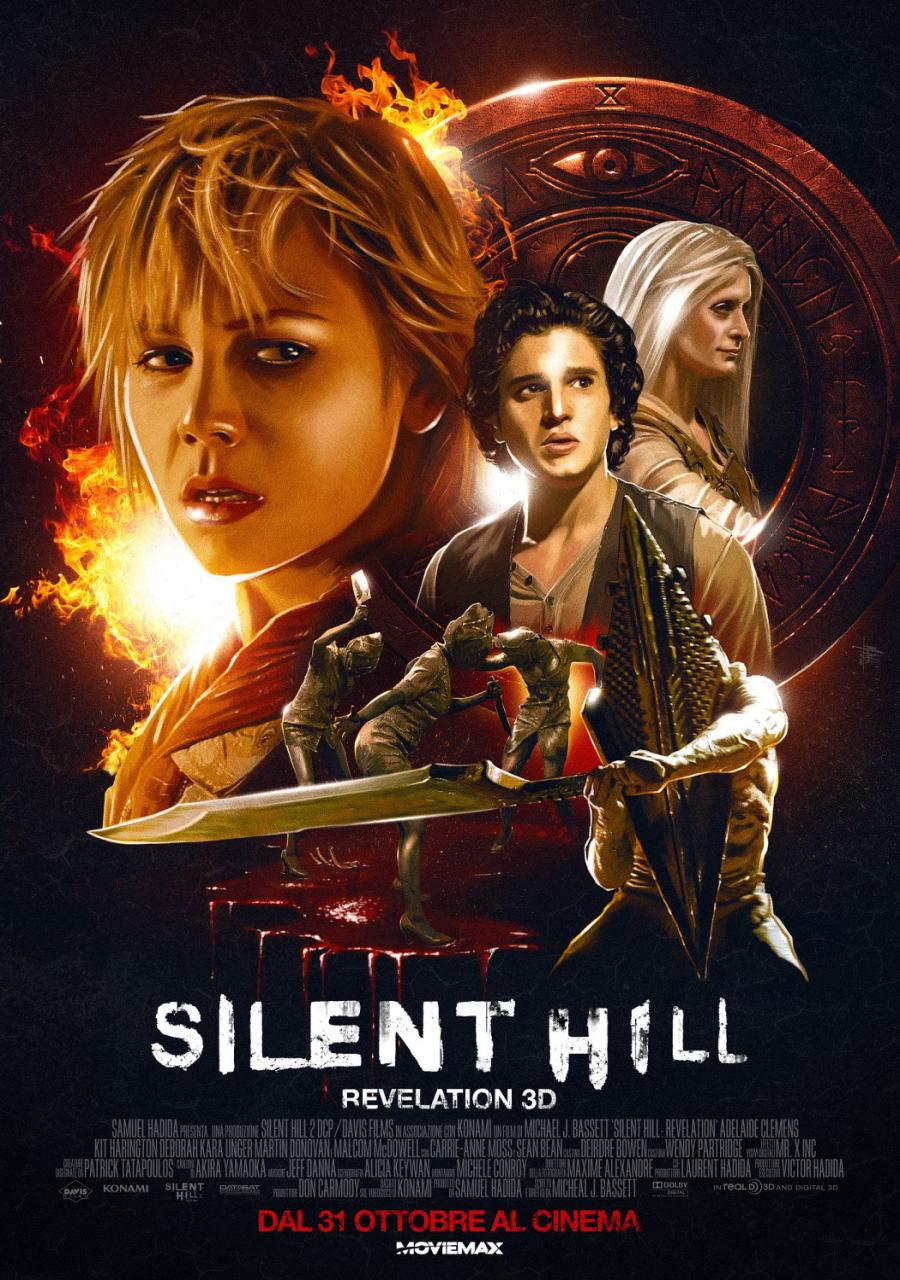 映画『サイレントヒル:リベレーション3D (2012) SILENT HILL: REVELATION 3D』ポスター(4)▼ポスター画像クリックで拡大します。