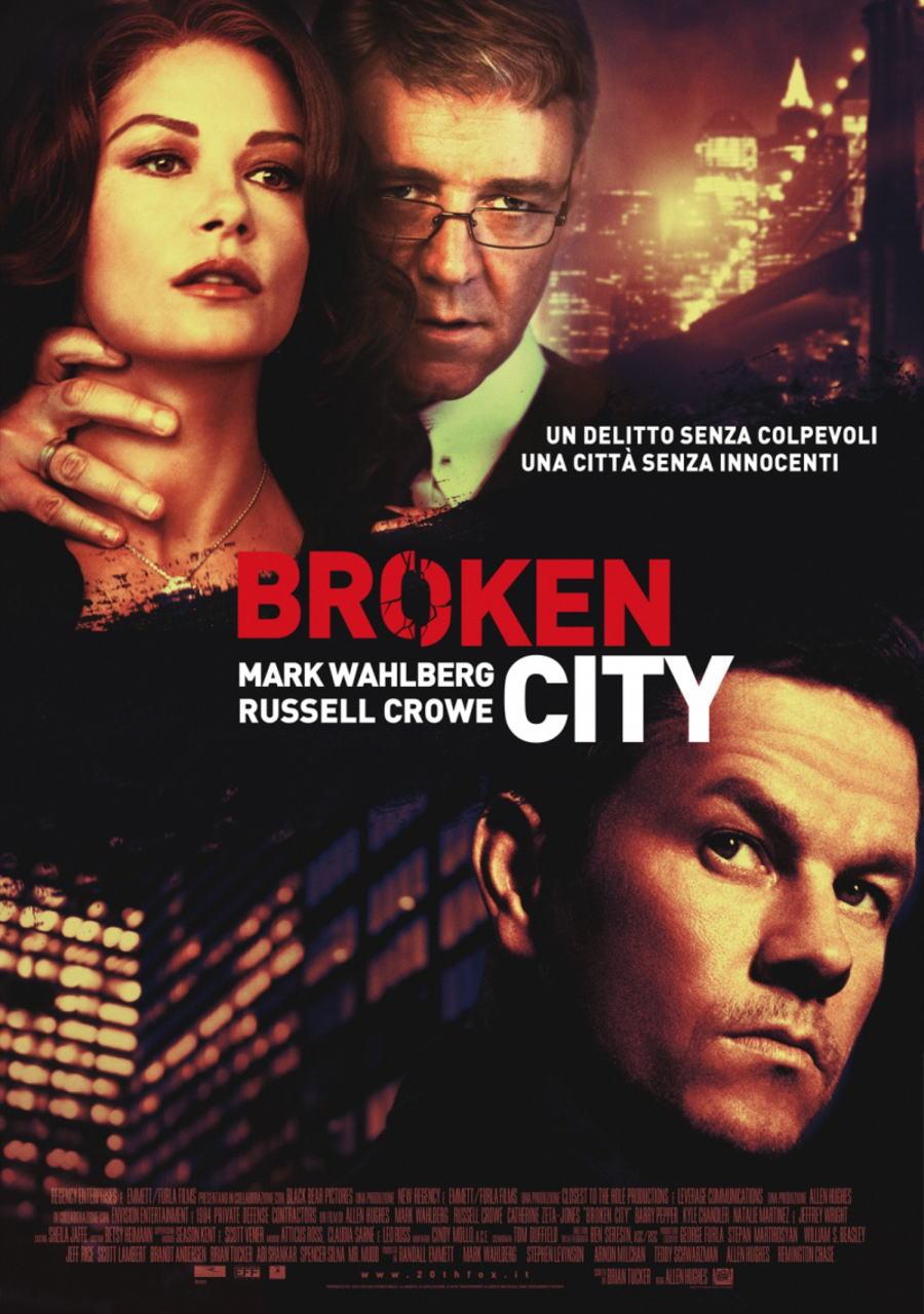 映画『ブロークンシティ (2012) BROKEN CITY』ポスター(3) ▼ポスター画像クリックで拡大します。